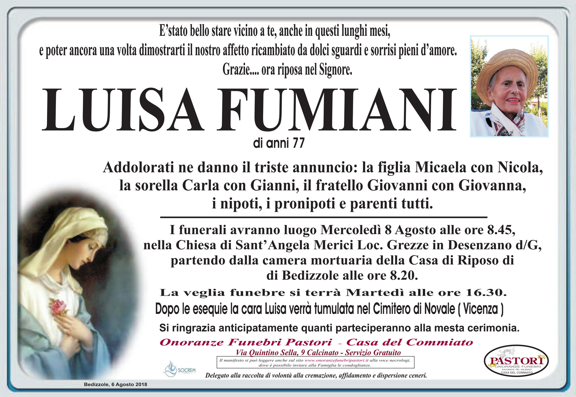 Luisa Fumiani