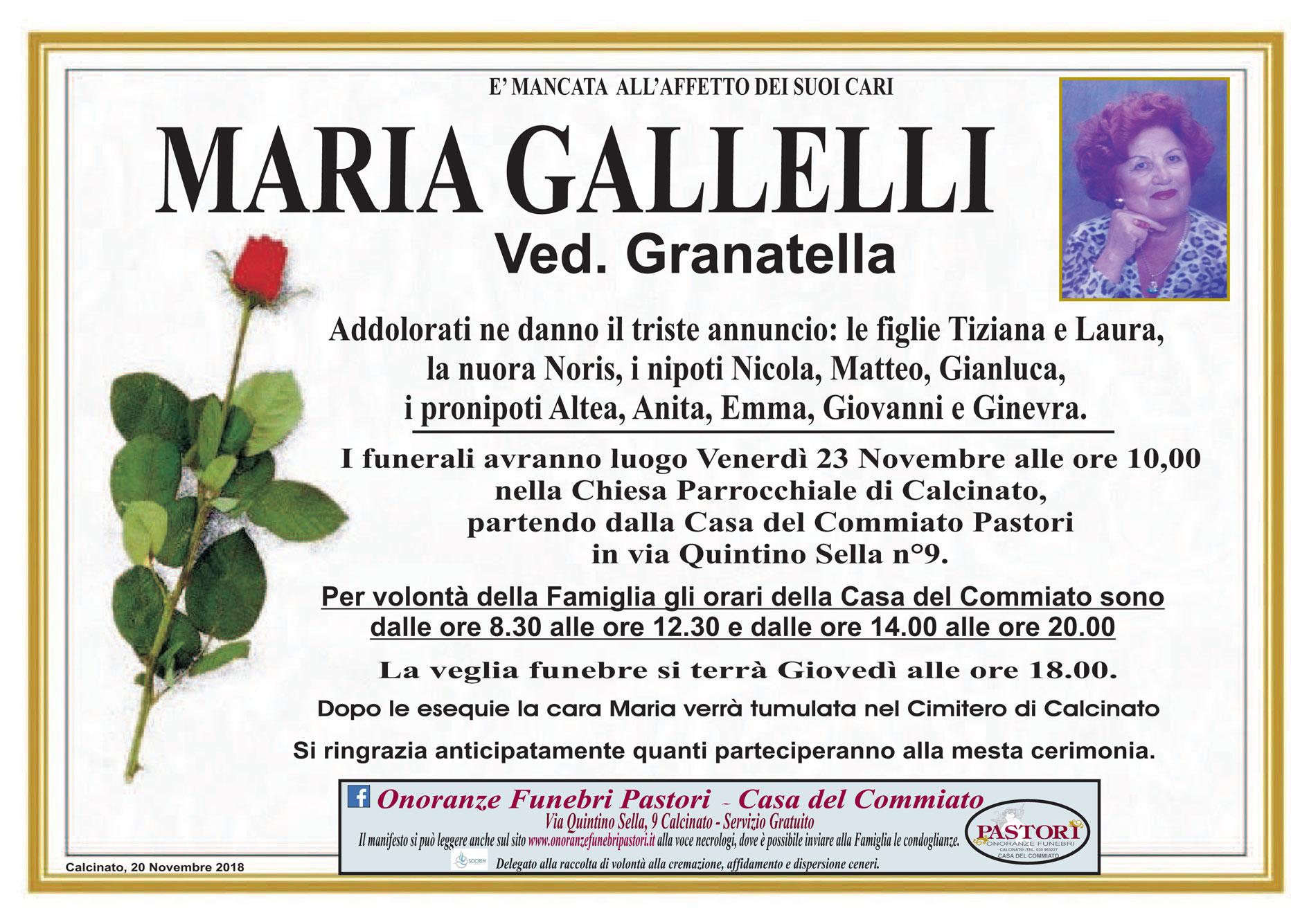 Maria Gallelli