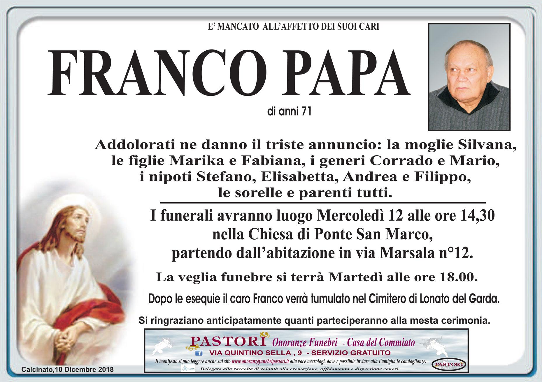 Franco Papa