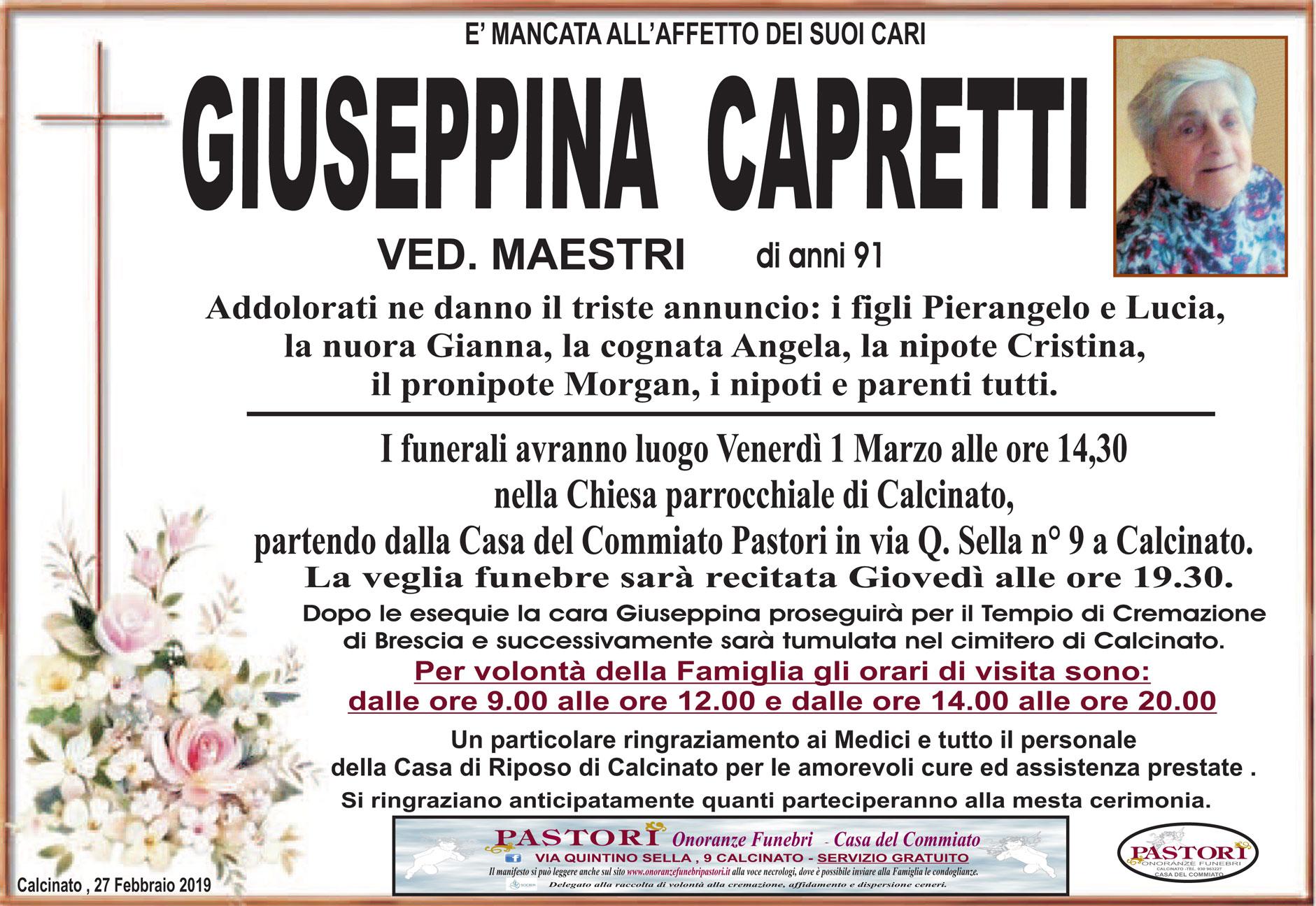 Giuseppina Capretti