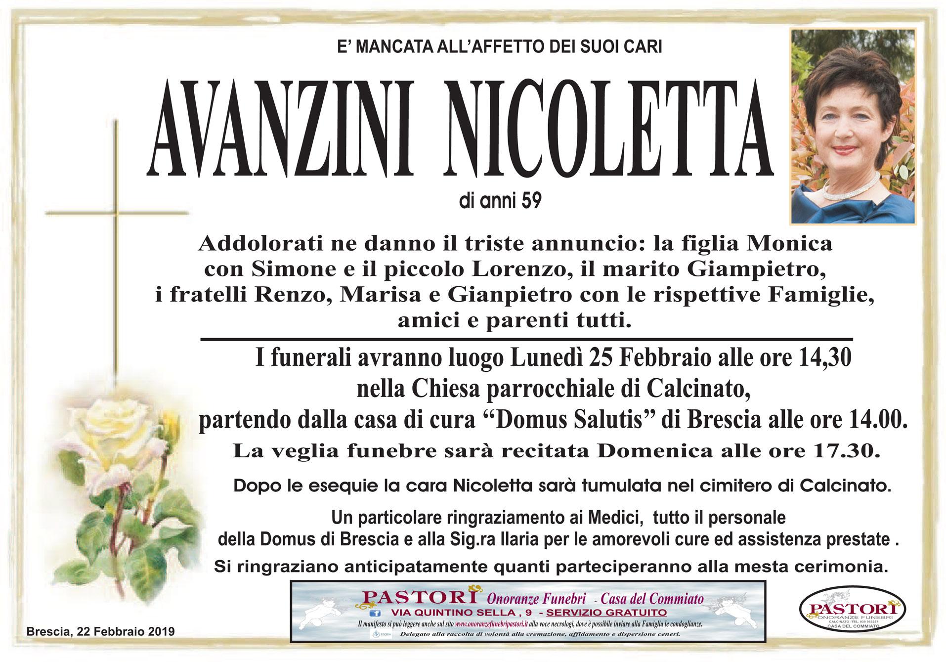 Avanzini Nicoletta