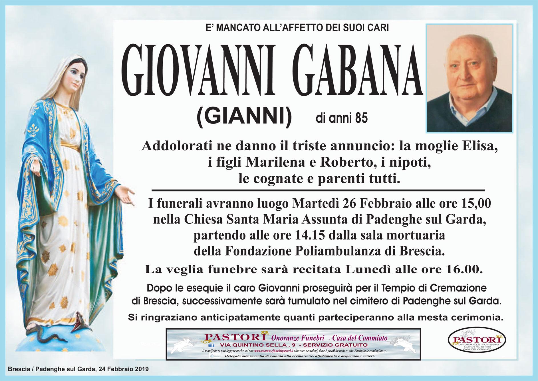 Giovanni Gabana