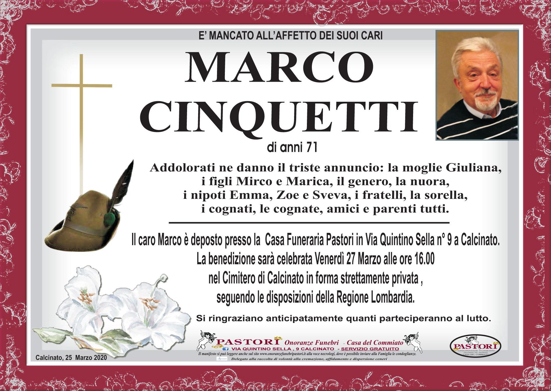 Marco Cinquetti