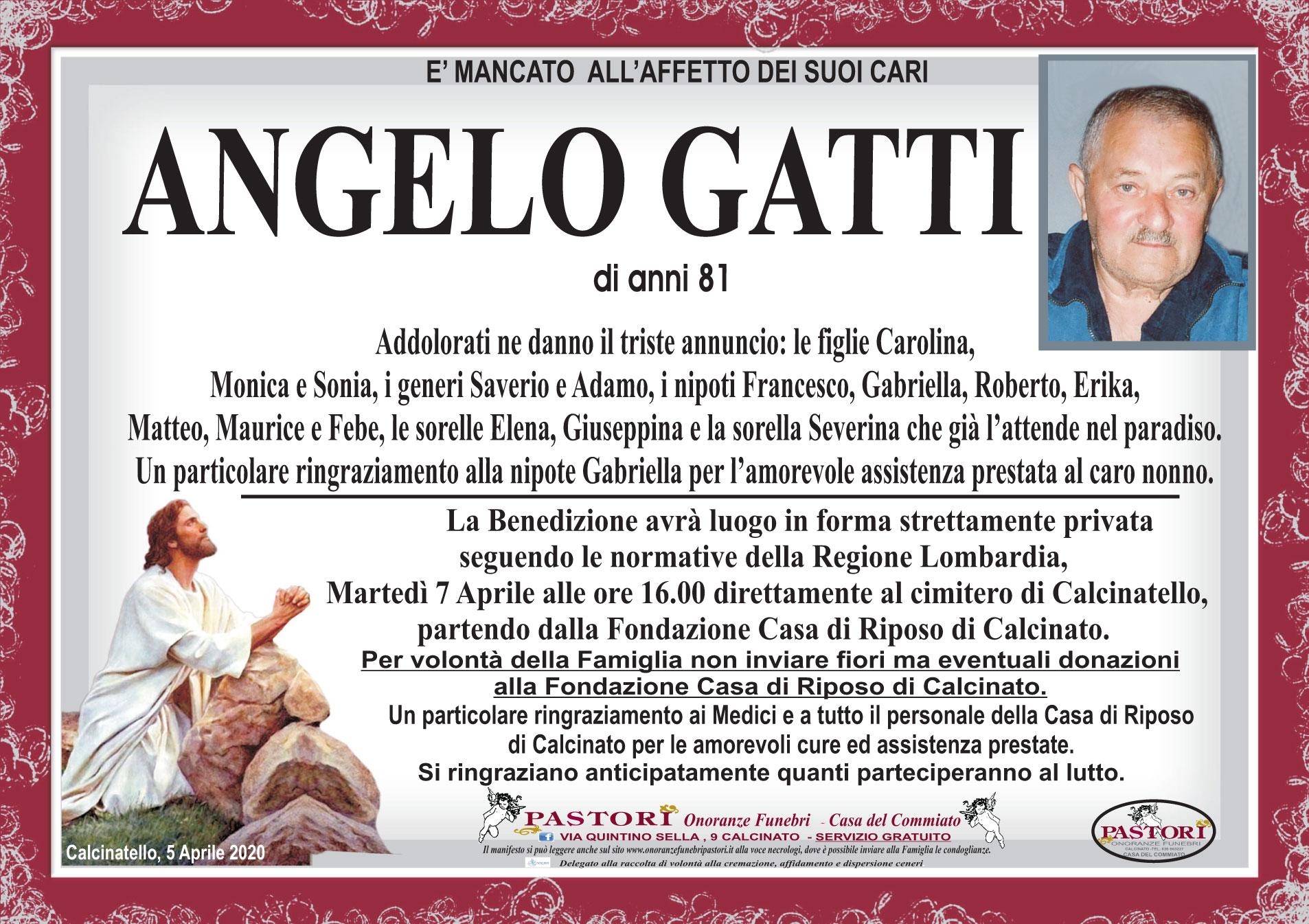Angelo Gatti