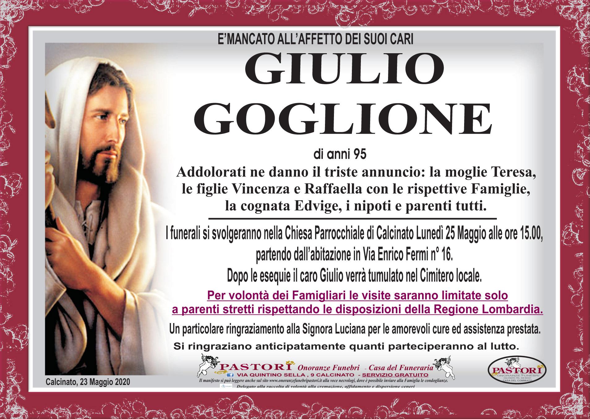 Giulio Goglione