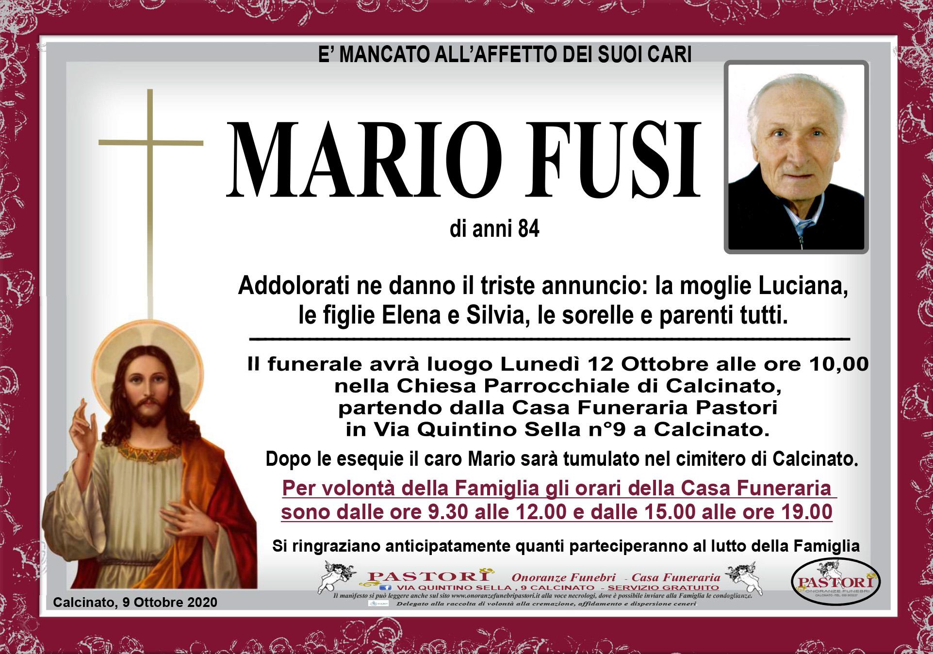 Mario Fusi