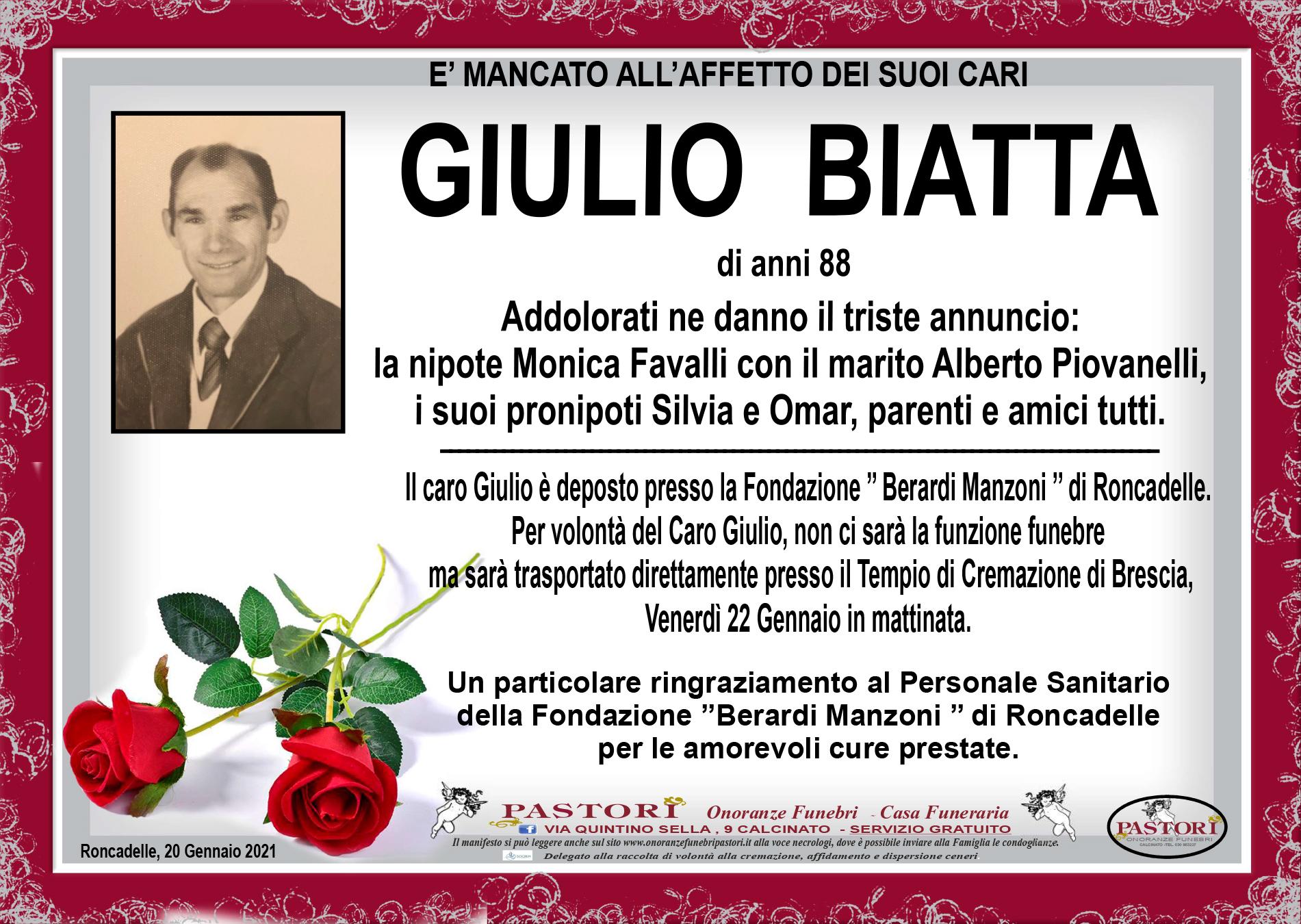 Giulio Biatta