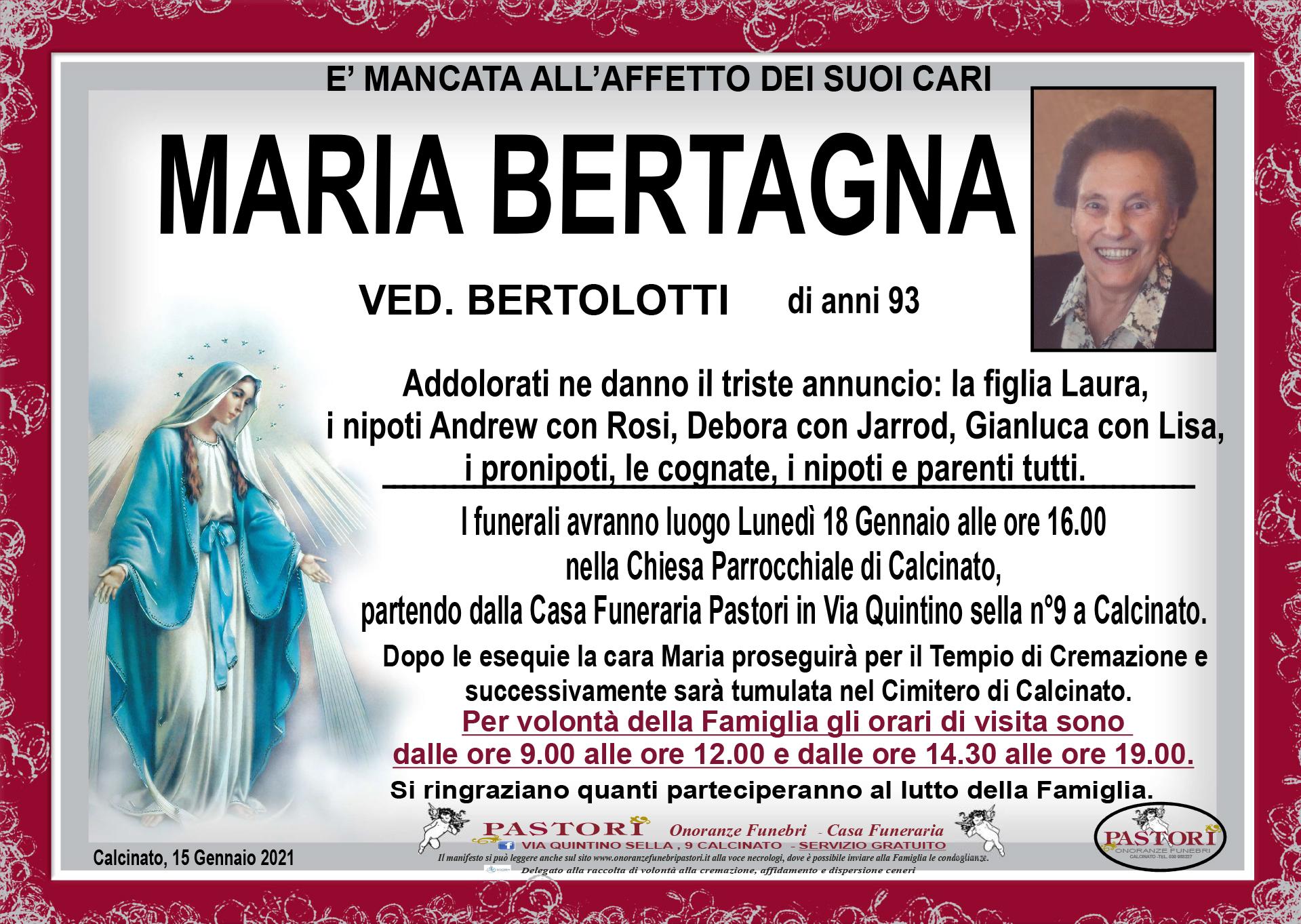 Maria Bertagna