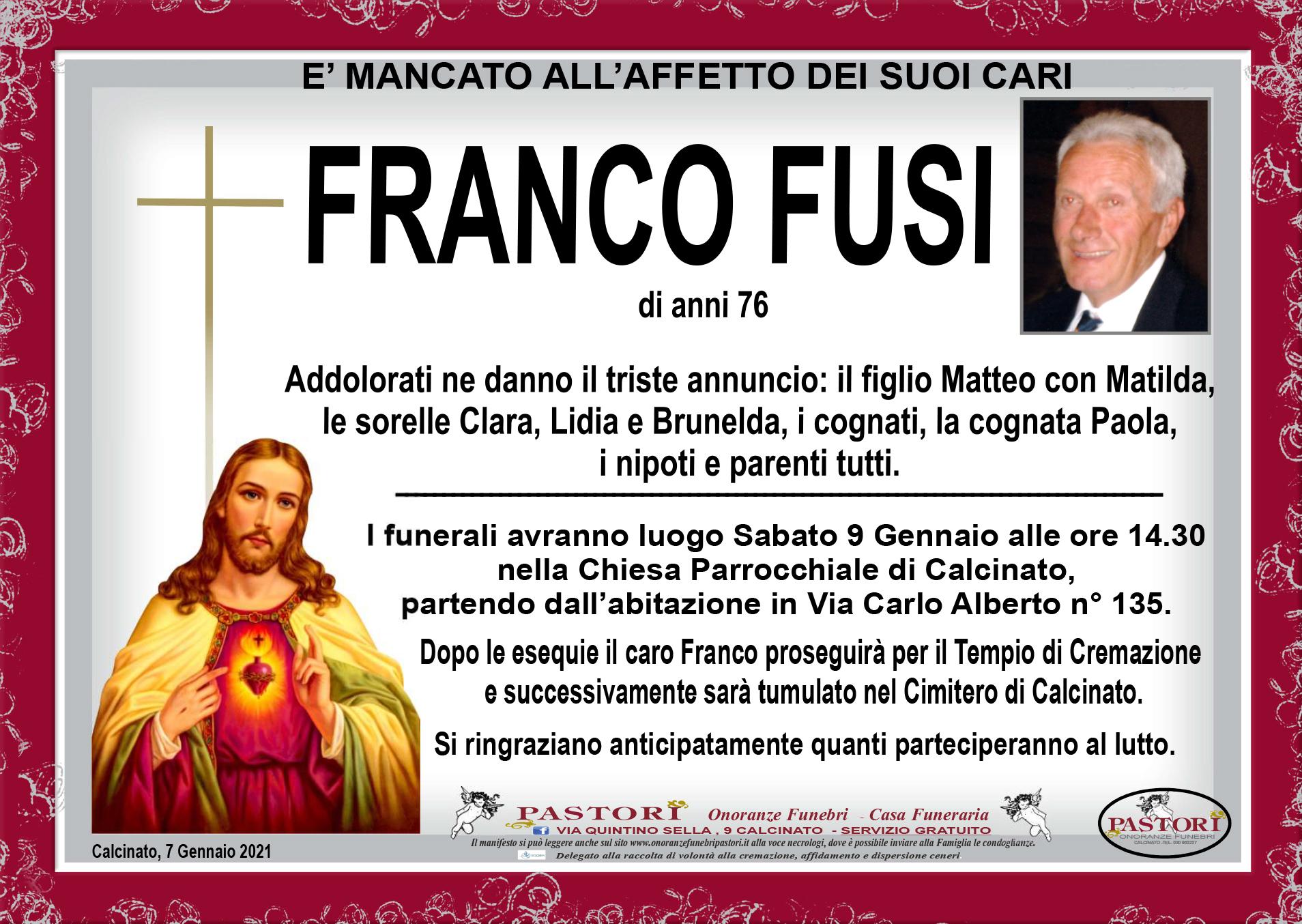 Franco Fusi