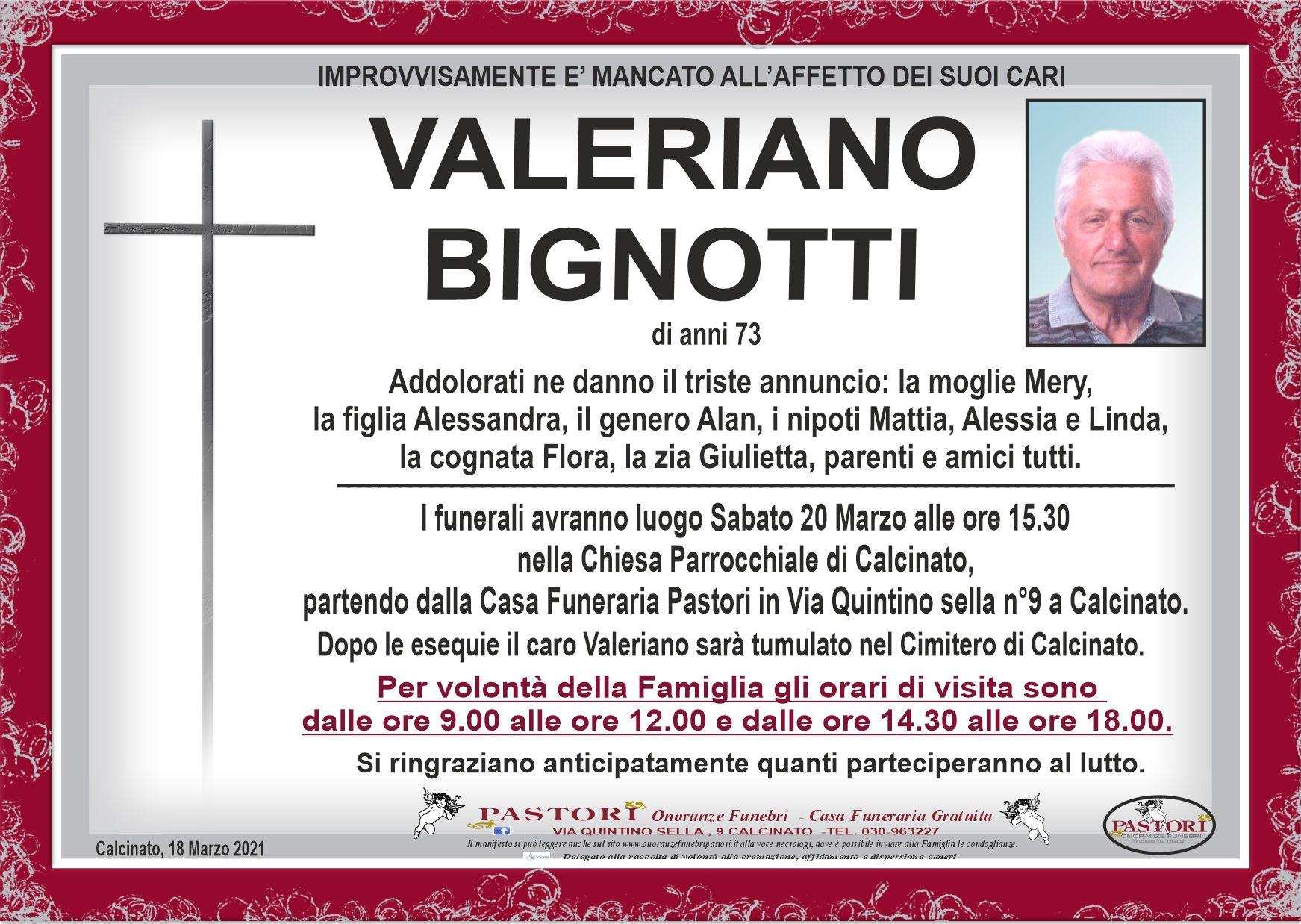 Valeriano Bignotti