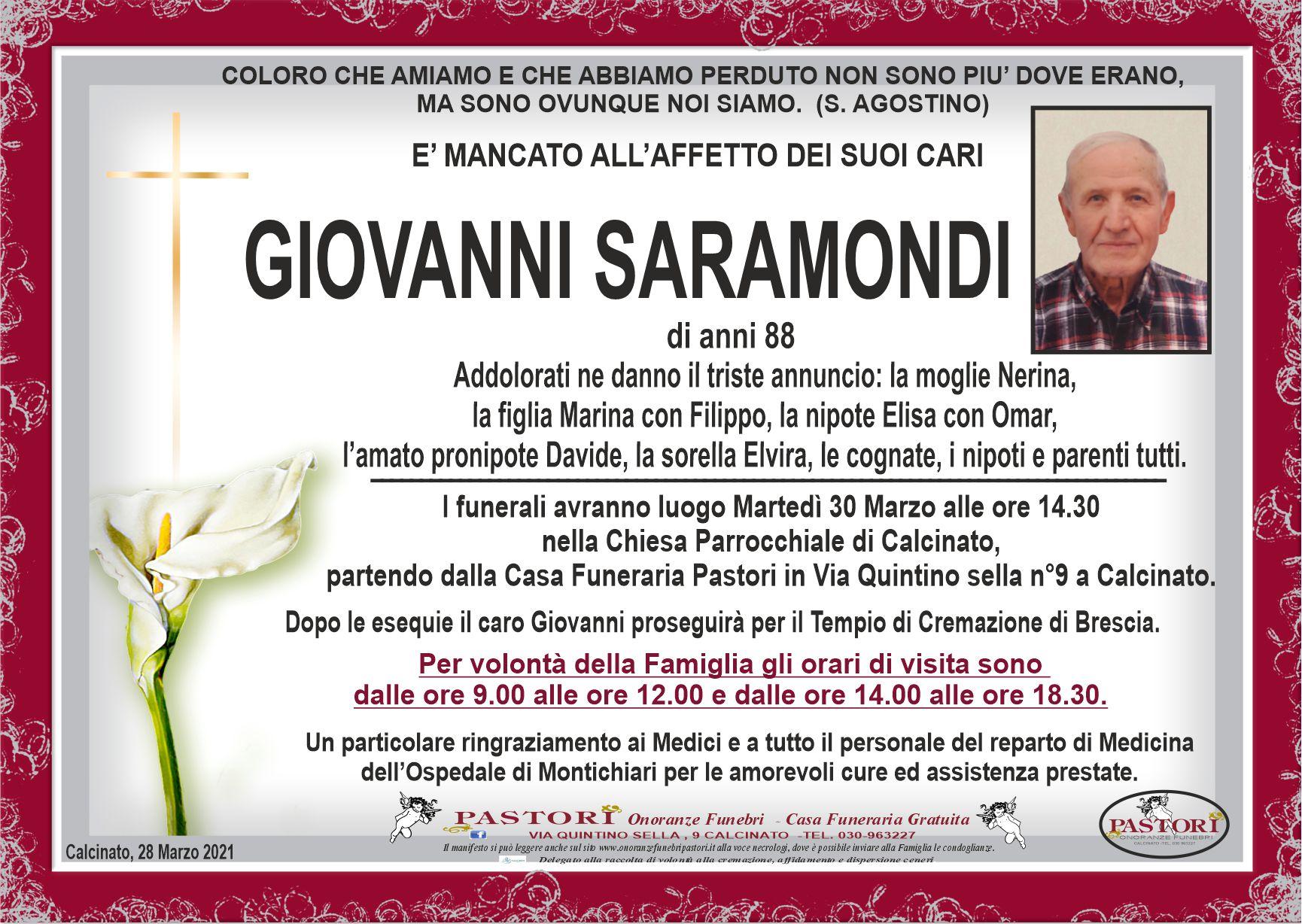 Giovanni Saramondi