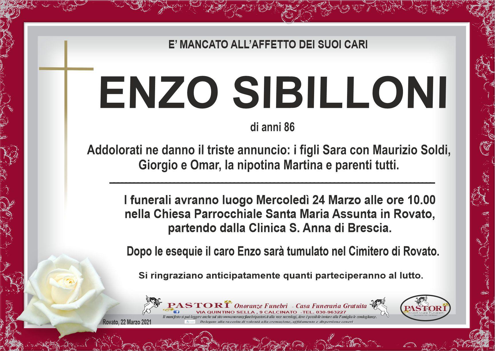 Enzo Sibilloni