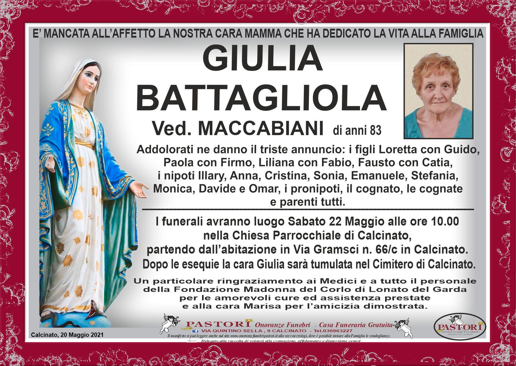 Giulia Battagliola
