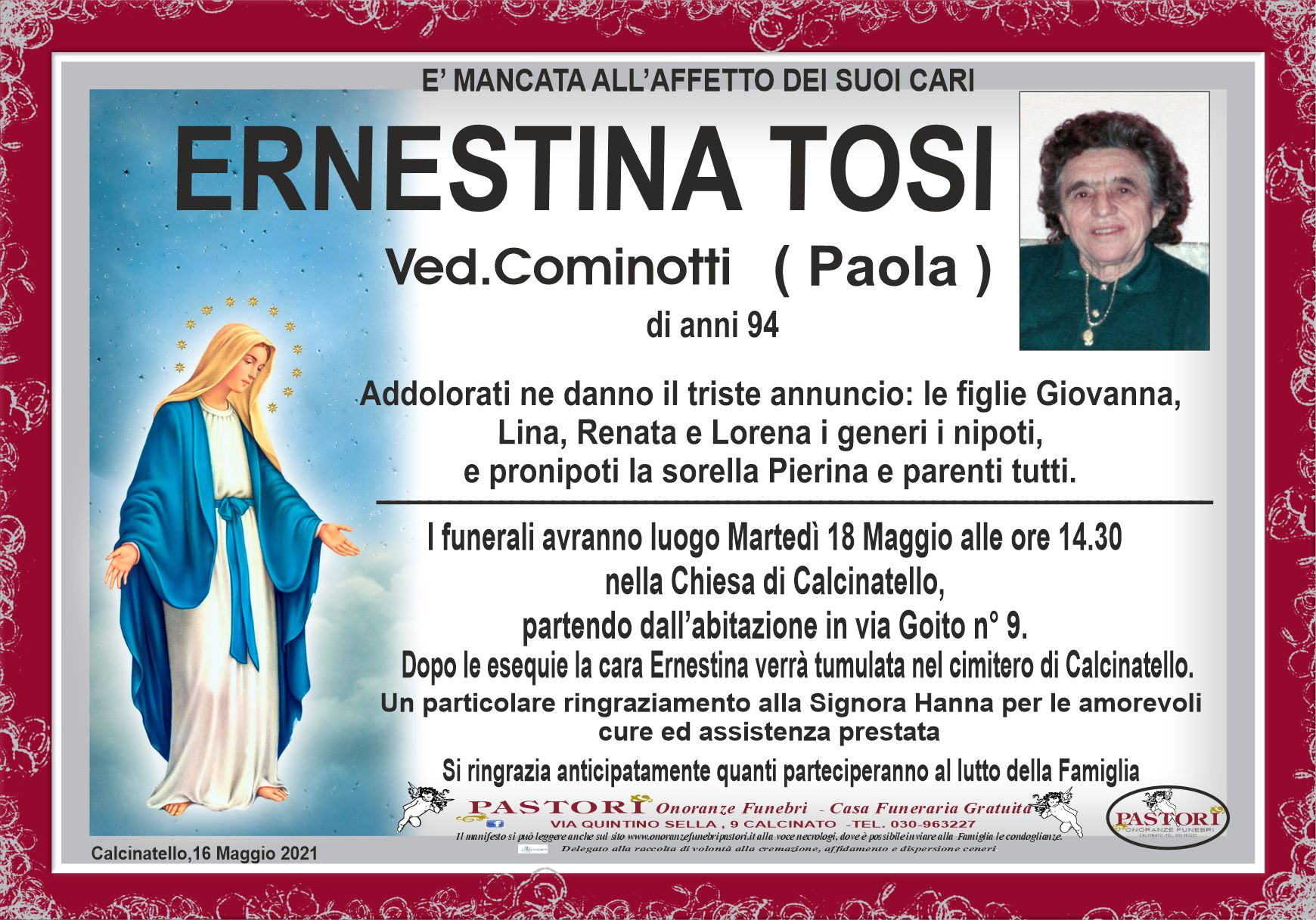 Ernestina Tosi