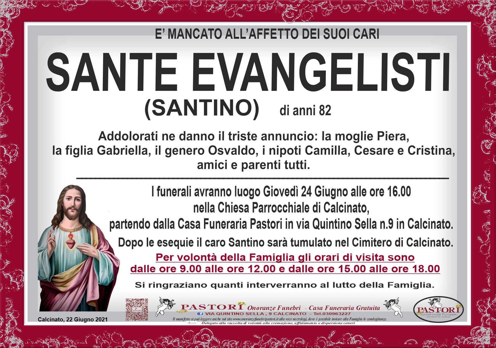 Sante Evangelisti
