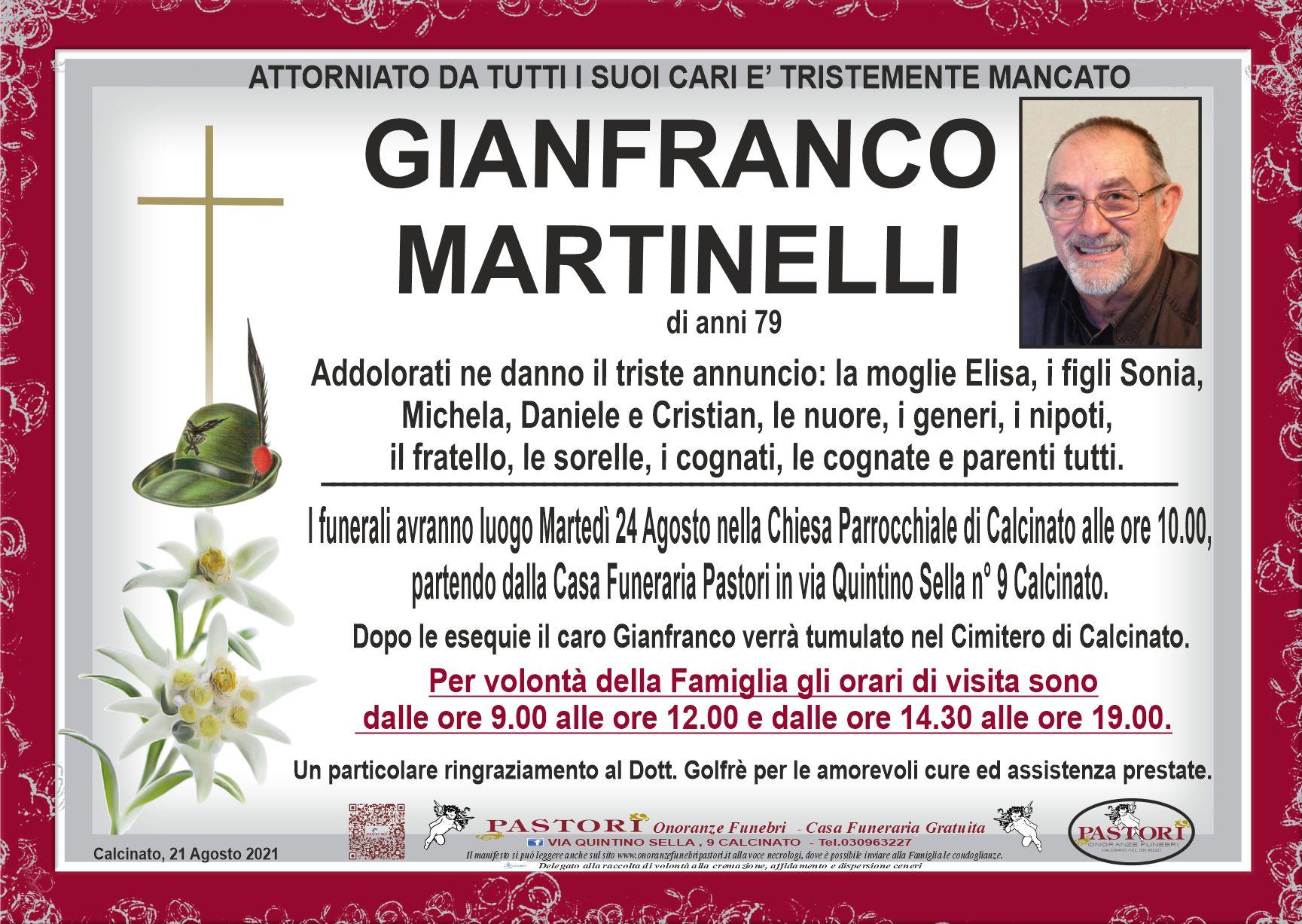 Gianfranco Martinelli