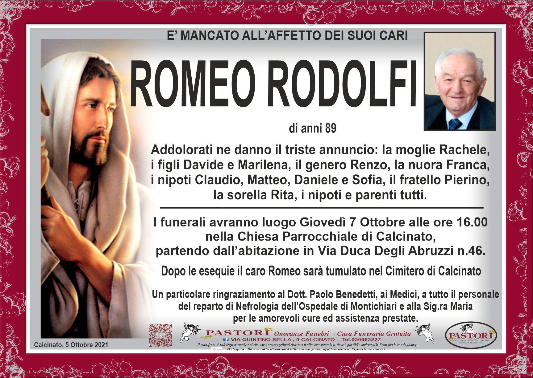 Romeo Rodolfi